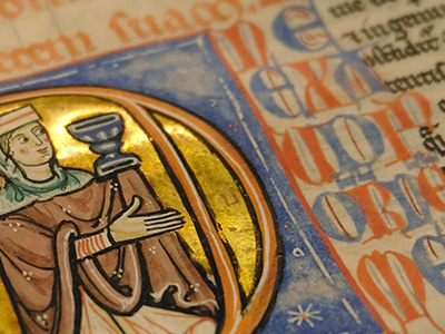 Medieval Manuscripts Return to Cirencester