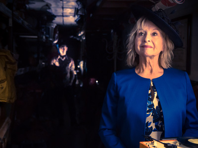 Liza Goddard in A Passionate Woman at the Everyman Theatre, Cheltenham