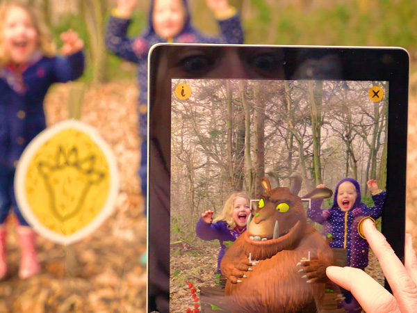 The Gruffalo brought to life in The Forest of Dean with new augmented reality App