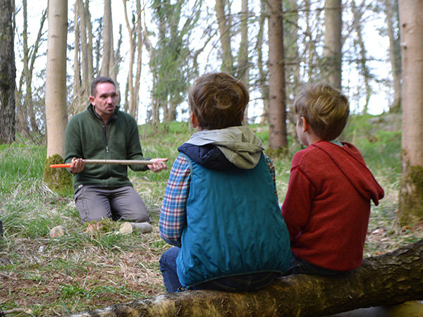 TV Presenter Adam Henson launches new Bushcraft Experience