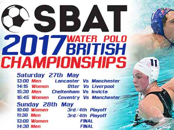 The 2017 SBAT British Water Polo Championships at Sandford Parks Lido
