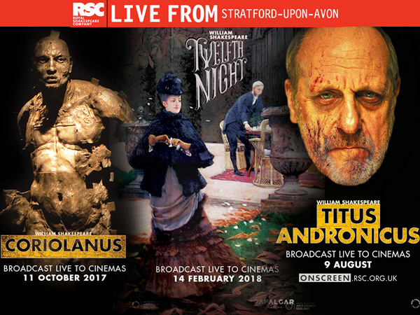 Corinium Cinema to screen RSC 'Live from Stratford-upon-Avon'
