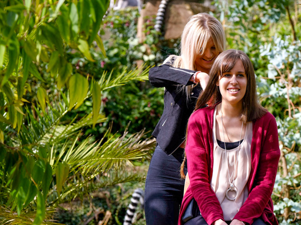 Cotswold Wildlife Park staff donates hair to Little Princess Trust