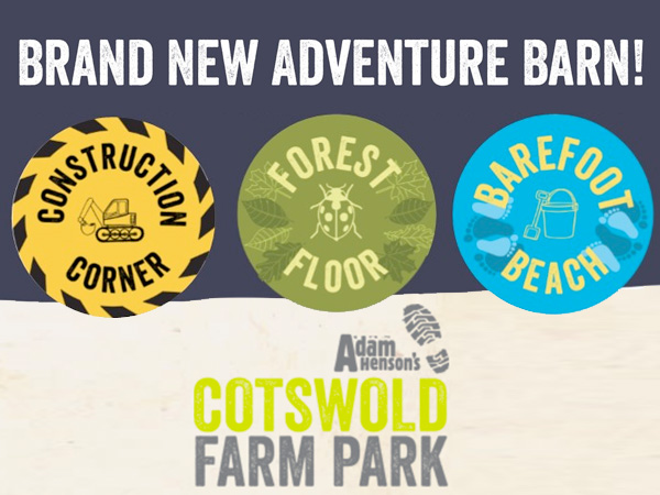 New indoor play barn now open at Cotswold Farm Park