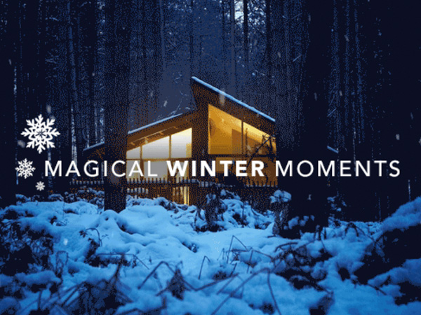 Enjoy A Forest Holidays cabin this winter