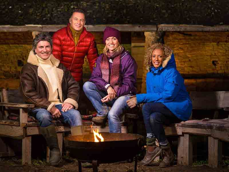Winterwatch comes to Sherborne in Gloucestershire