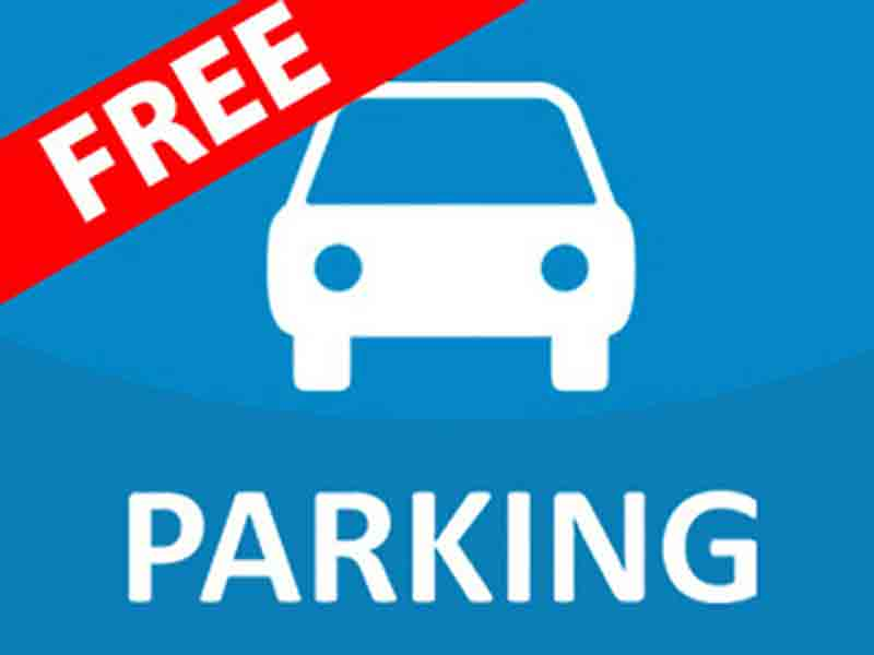 Free parking for shoppers during race week
