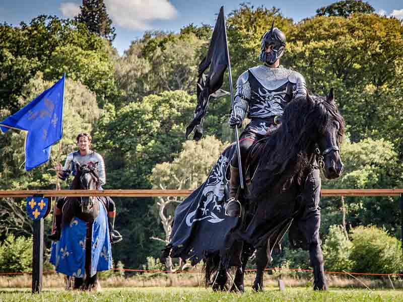 Jousting at Sudeley Castle