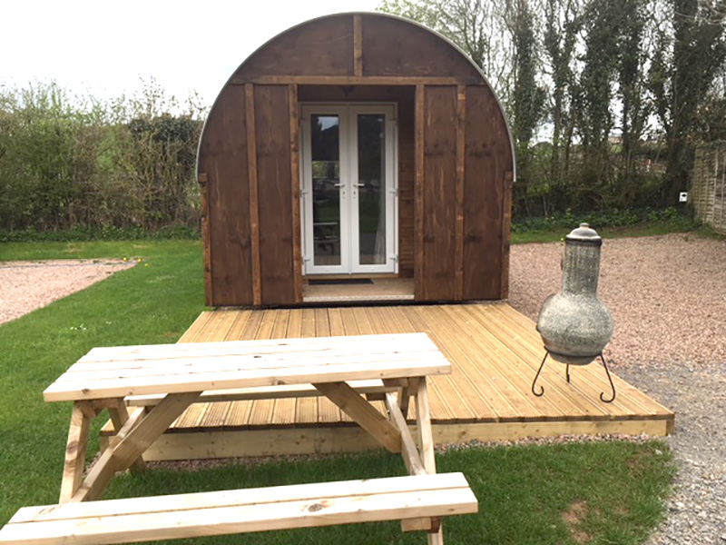 NEW Luxury Glamping Ark + Great Offer at Greenway Famr Caravan & Camping Site