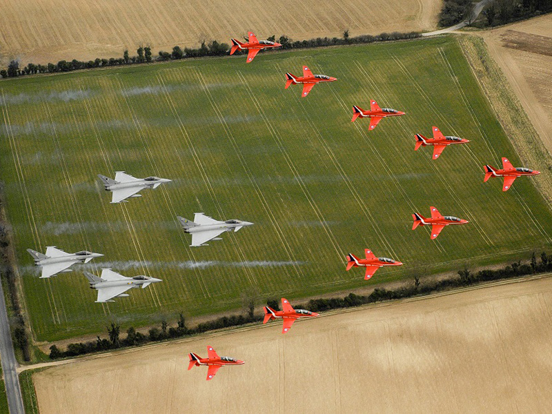 Air Tattoo Plans Memorable RAF100 Flypast