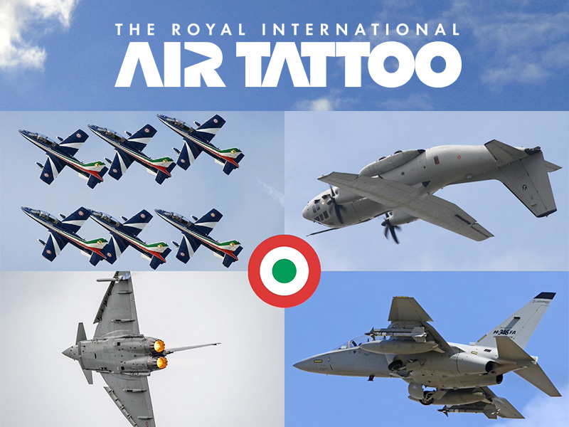 Huge Italy Confirmation Boosts RAF100 Celebration!