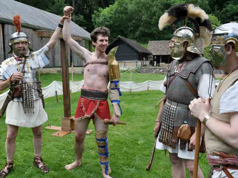 Father's Day at Chedworth Roman Villa