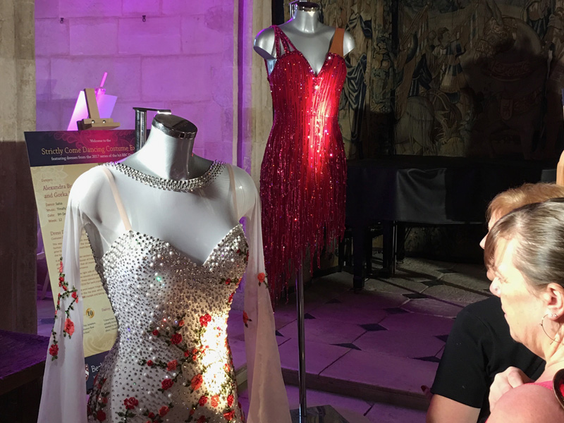 The Grand Opening of the Strictly Come Dancing exhibition at Berkeley Castle