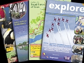 Explore Gloucestershire printed guide 2008