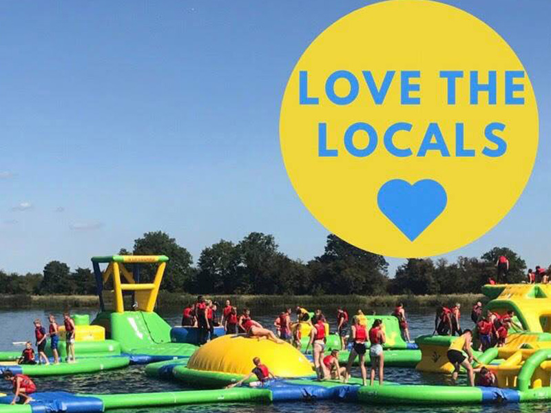 'Love the Locals' Day at The Cotswold Country Park and Beach