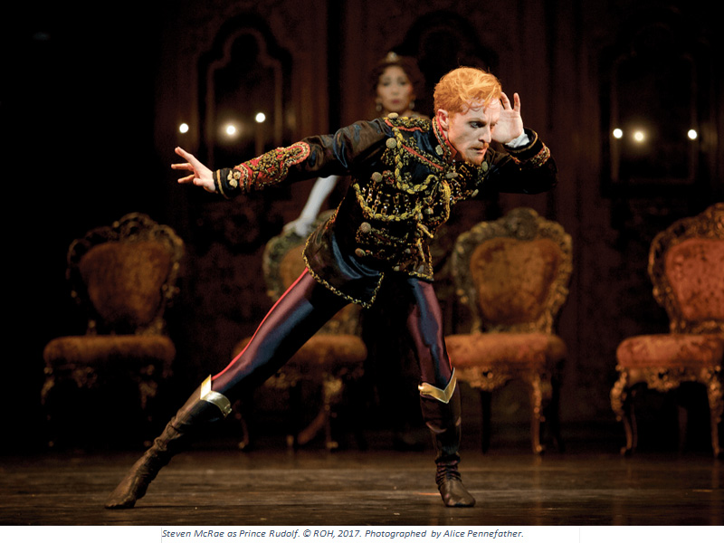 The Royal Ballet's dark and dangerous Mayerling screened live to the Corinium Cinema