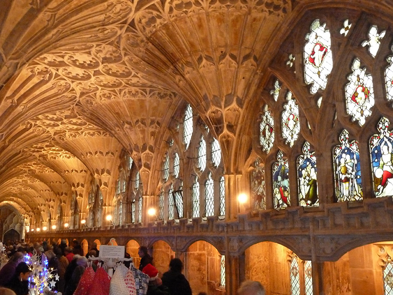Carols on the Hour and Christmas Market at Gloucester Cathedral