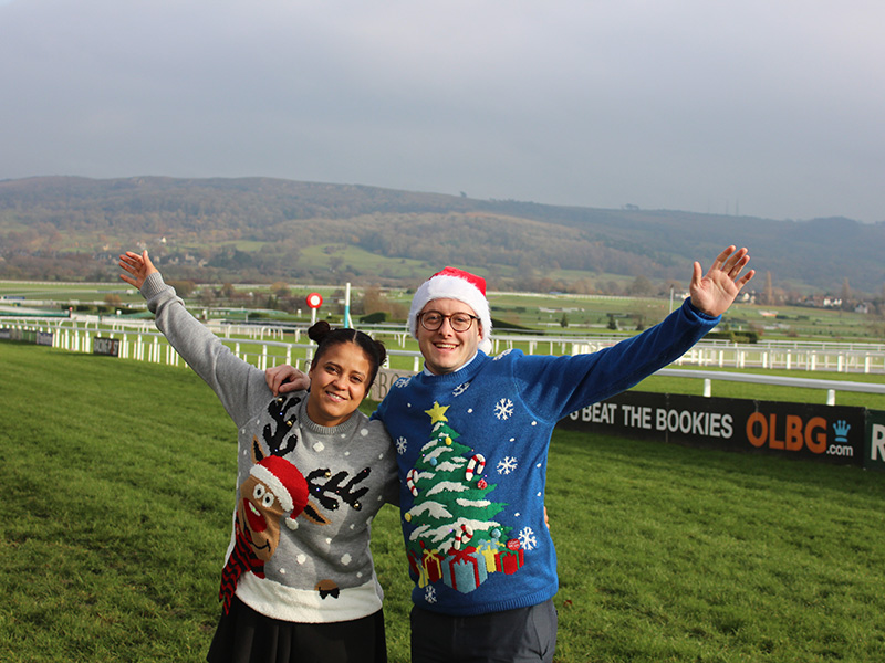 The International – Christmas Jumper Day at Cheltenham Racecourse
