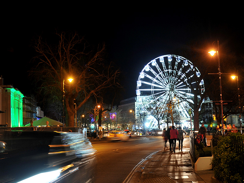 February is all lit-up in Cheltenham