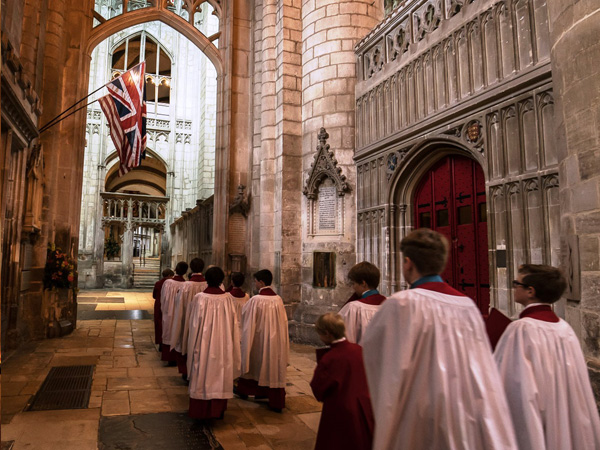 Chorister Voice Trials at Gloucester Cathedral