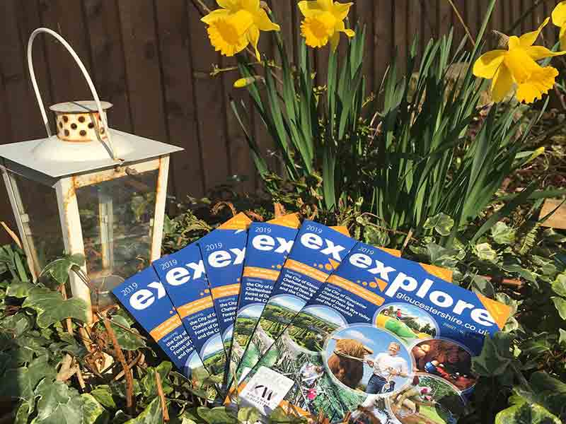 2019 Explore Gloucestershire printed guide now out