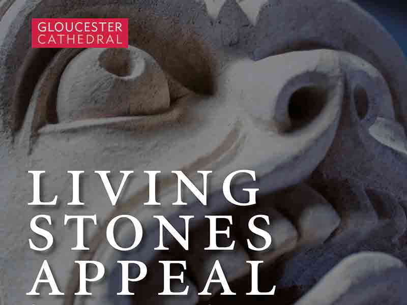 Living Stones appeal at Gloucester Cathedral