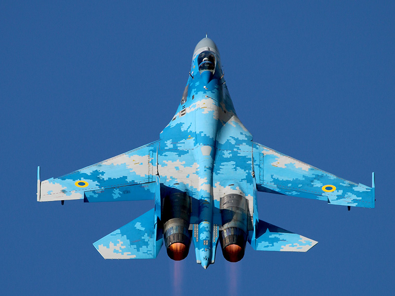RIAT LATEST: Ukranian Fast Jet to Star at Air Tattoo