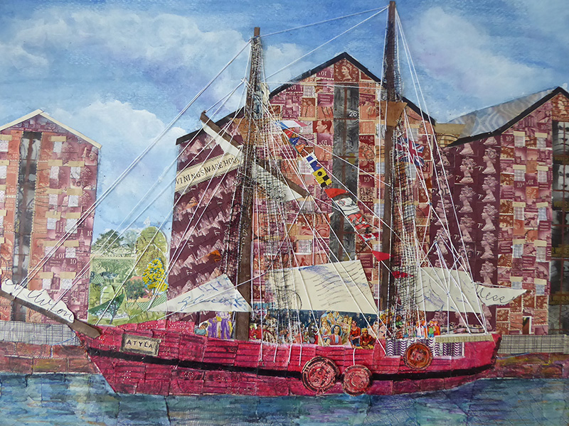 2019 Exhibitions at The National Waterways Museum in Gloucester Docks