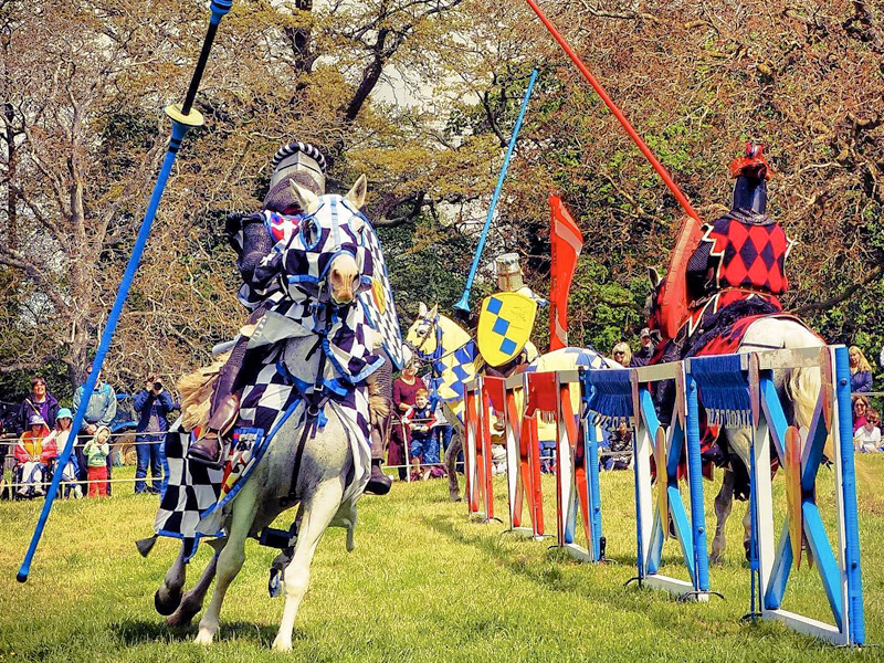 JOUST at Sudeley Castle - Photo by Steve Green
