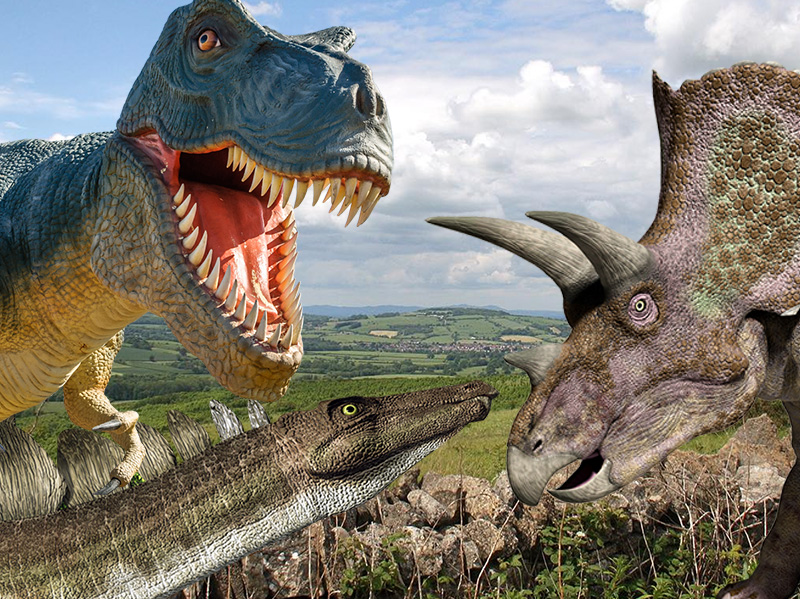 Dinosaurs on the move in Gloucestershire!