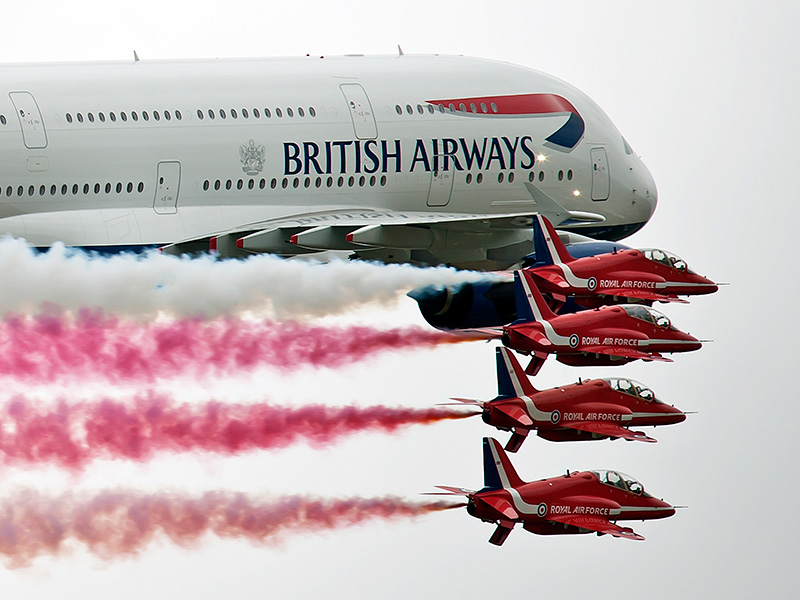 Air Tattoo to celebrate airline heritage with British Airways and Red Arrows