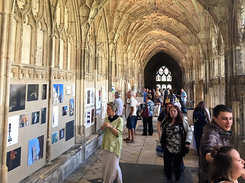 Art and Wellbeing: Creating Community at Gloucester Cathedral