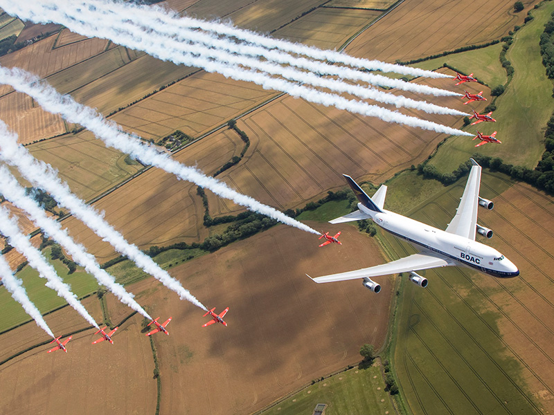 Air Tattoo crowds enjoy feast of flying