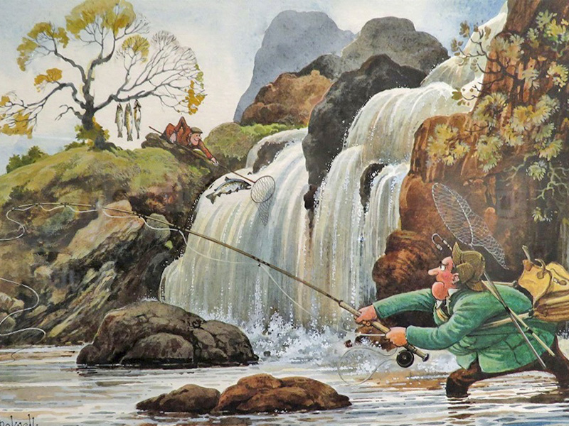 Nature in Art Exhbitions: Laughter Lines by Norman Thelwell