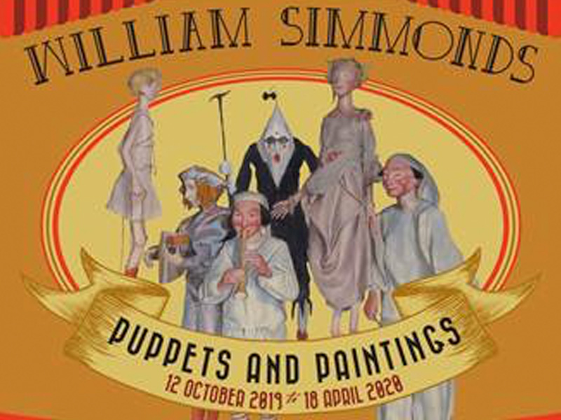 William Simmonds' 'Puppets & Paintings' Exhibition in Gloucester