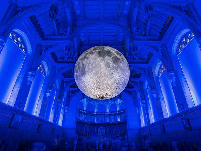 'Museum of the Moon' to land at Gloucester Cathedral