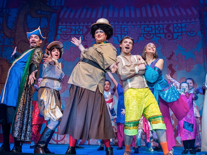 REVIEW Aladdin at The Roses Theatre, Tewkesbury