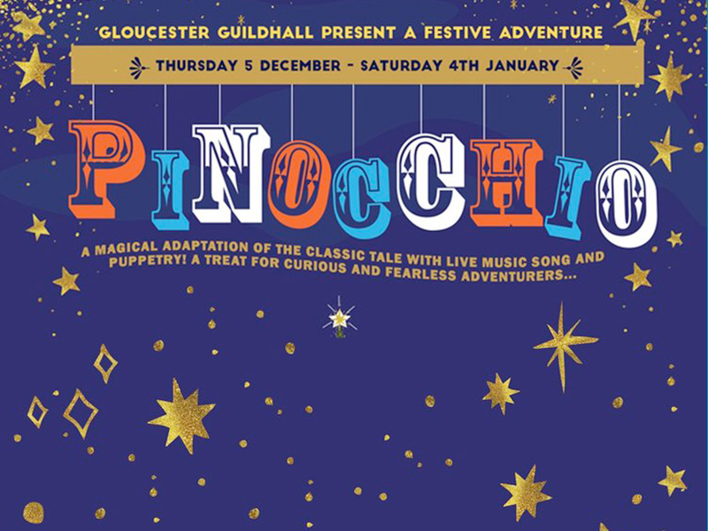 Pinocchio at Gloucester Guildhall