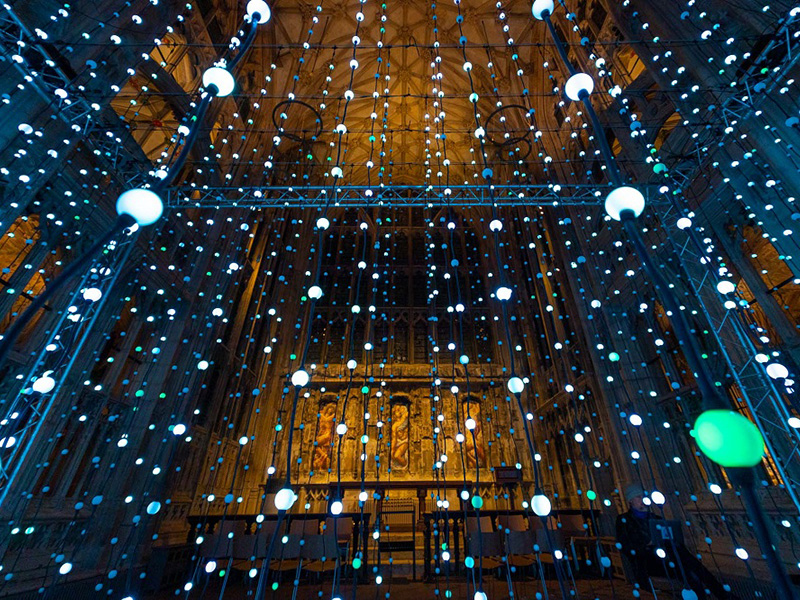 Spectacular Light Installation to Shine Bright at Gloucester Cathedral