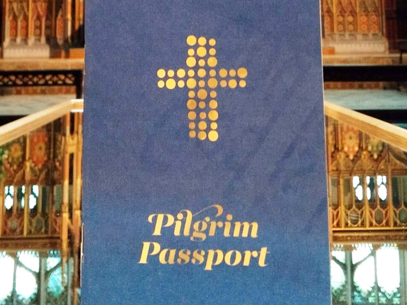 Pick up your Pilgrim Passport at Gloucester Cathedral