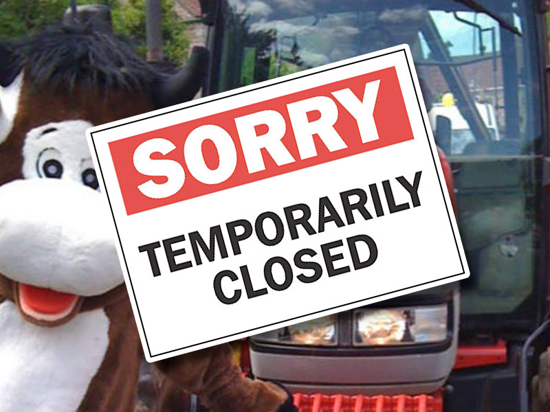 Temporary Closure of Cattle Country Adventure Farm Park