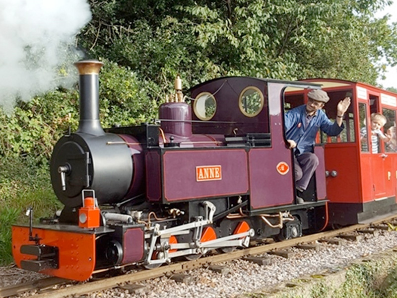 Perrygrove Railway in the Forest of Dean