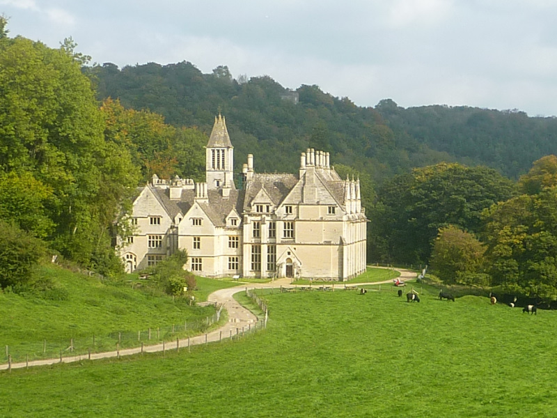Woodchester Mansion in the Cotswolds