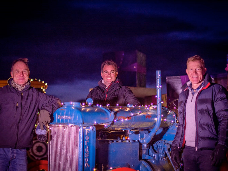 Adam Henson opens brand new illuminations event, 'The Enchanted Light Trail'