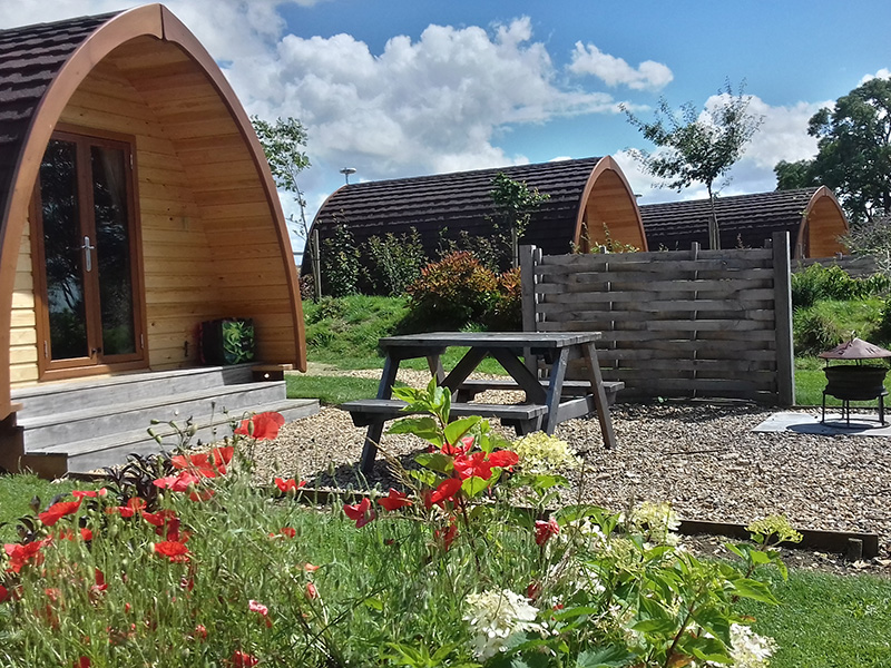Notgrove Holidays glamping pods