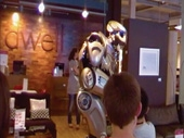 Watch TITAN the Robot at The Brewery in Cheltenham