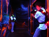 NEW EXCLUSIVE OFFER! Buy 2 Darklight Lasertag experiences and get 3rd FREE