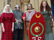 BBC History Festival at Gloucester Cathedral - 28 August 2010