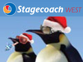 Get on the bus this Christmas! Stagecoach West timetables for Gloucestershire