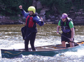 Canoeing on the River Wye with Way2Go Adventures